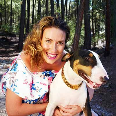 Neurofeedback Tucson AZ Dr. Anna Blessing and Pepe Therapy Dog